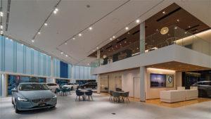 Volvo Car Okayama 新築工事